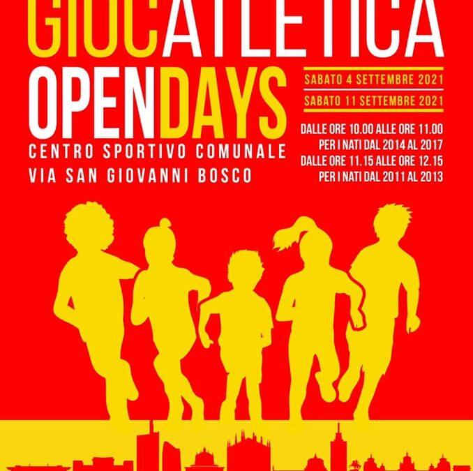 PROVATLETICA: OPEN DAY DEL GIOCATLETICA!